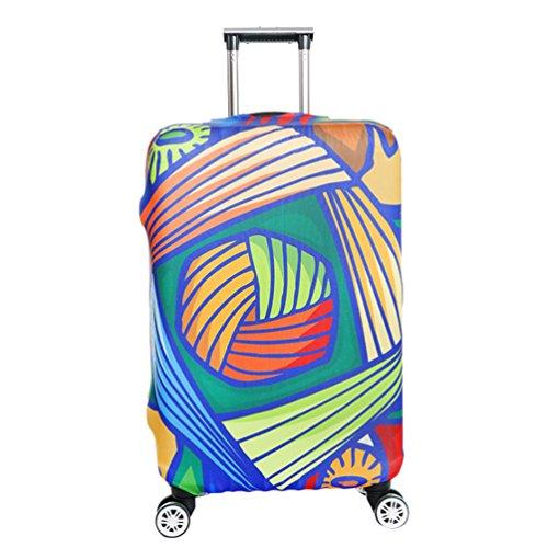 YiJee Covers Kofferschutzhülle Mit Trendigen Drucken Abdeckung 18-32 Zoll Wie Das Bild 2 M