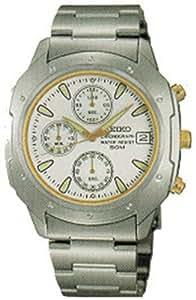 Montre Homme Seiko SKS171 Bracelet argenté en acier