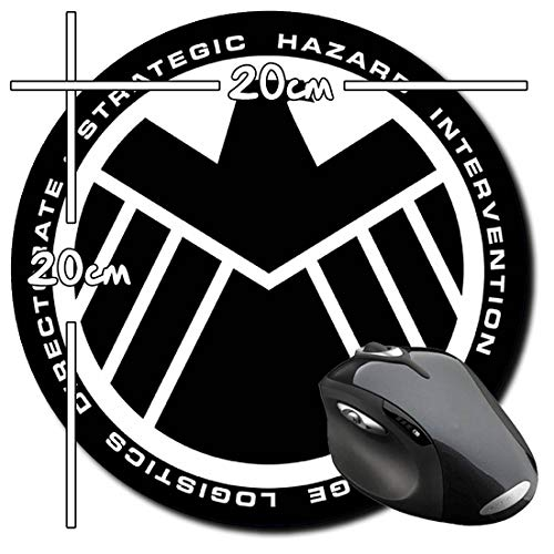 Marvel's Agents Of S.H.I.E.L.D. Shield E Mauspad Round Mousepad PC (Agent Of Shield Zubehör)