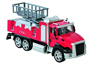 WDK Partner-Camión Bombero 21cm Metal, yf1704036