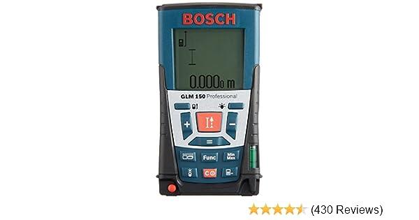 Bosch Entfernungsmesser Dle 150 : Bosch professional glm u m messbereich ± mm