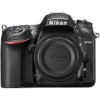 Nikon D7200 Fotocamera Reflex Digitale, 24,72 Megapixel, Wi-Fi Incorporato, NFC, Nero [Versione EU]