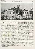 LA CONSTRUCTION MODERNE - N°18 - 30 JANVIER 1927 / LE TRUQUAGE DE L'ART ANCIEN - UNE CITE JARDIN A LONGUEAU - LA TAXE EXCEPTIONNELLE SUR LES MUTATIONS DE LA PROPRIETE IMMOBILIERE ET SUR LES MUTATIONS DE CABINETS OU DE FONDS DE COMMERCE ......
