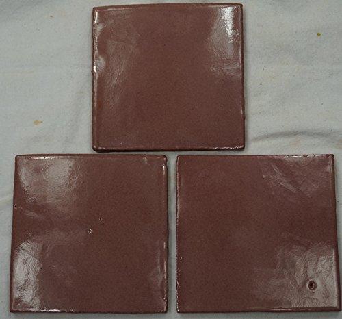 Talavera messicano per piastrelle in ceramica, dipinta a mano, in piastrelle ref.R38 Terracotta messicana, 10,5 (Ceramica Talavera)