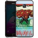 Samsung Galaxy A3 (2016) Housse Étui Protection Coque Fleurs Fleurs Roses