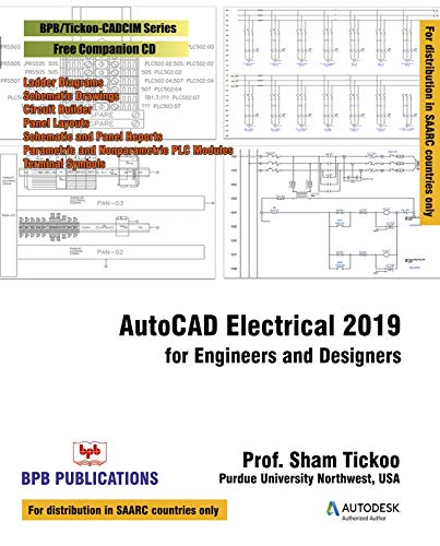 AutoCAD Electrical 2019 for Engineers and Designers