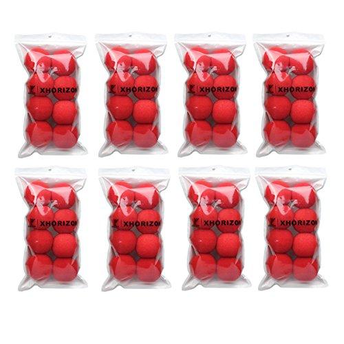 xhorizon 64 X Rot Schaum Clown Nase Kostüm Cosplay Party Dress Parteien und (Clown Nasen Rot)