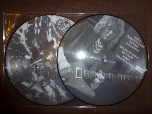 33T. IRON MAIDEN. PICTURE DISC.LIVE IN THE 80'S..LIMITED 333 C.UK (Iron Maiden Picture Disc Vinyl)