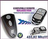 NOVOFERM/NOVOTRON 502MAX43–2(Mini) Kompatibel Fernbedienung destancia 433,92MHz Rolling Code, 4-canales Ersatz Transmitter zum Besten Preis.