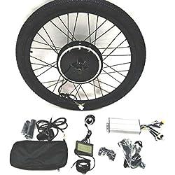 36V500W Hub Motor lektro-Fahrrad Umbausatz Electric Bike Conversion Kit + Tire + LCD Display Theebikemotor