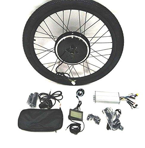 48V1000W Hub Motor lektro-Fahrrad Umbausatz Electric Bike Conversion Kit + Tire + LCD Display Theebikemoto