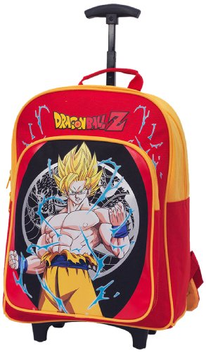 TROLLEY MOCHILA DRAGON BALL Z GOKU SUPER SAIYAN