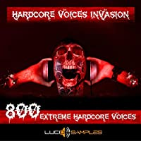 Hardcore Voices Invasion, 800 Hardcore Vocals and Hardcore Voice Loops [WAV Files] [DVD non Box]