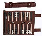 Sondergut Backgammon - Echtleder Backgammon - Reise Backgammon - Das