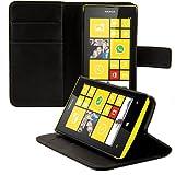 kwmobile Nokia Lumia 520 Hülle - Kunstleder Wallet Case für Nokia Lumia 520 mit Kartenfächern und Stand