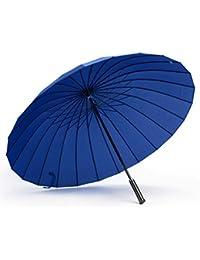 /Übergro/ßer Regenschirm Winddicht im Freien 24 Knochen