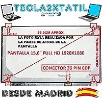Pantalla Compatible DE Y para PORTATIL HP Compaq Presario C700 cto 15,4 LCD WXGA 1280X800 CCFL 1-Tubo 30 Pin Ver Foto