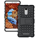 Kickstand Hybrid Dual Armor Case Cover for LYF Water 7 From shopehunt