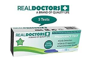Real Doctors Test de grossesse - test de grossesse via la