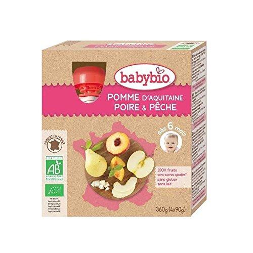 Babybio - Pomme Poire Pêche du Roussillon (dès 6 mois)