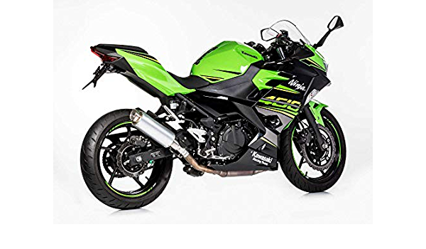 Auspuff Kompatibel Mit Kawasaki Ninja 400 2018 2019 Ex400g Hurric Tec One Slip On Ersatzdämpfer 2 1 S Auto