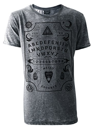 Darkside - Ouija Board - Mens - Burn Out T-Shirt - Grey