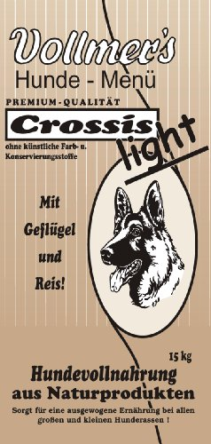 Vollmer's Crossis Light 37027 Hundefutter 15 kg