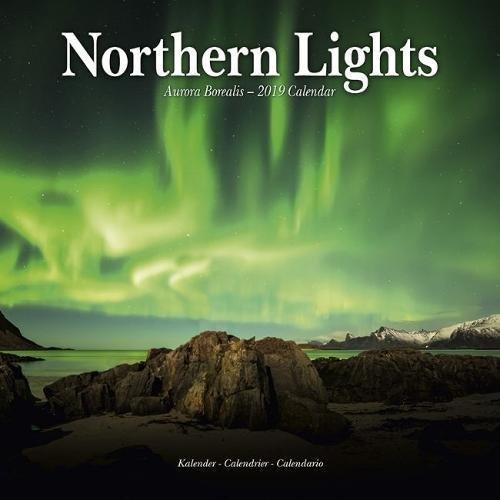 Northern Lights - Faszinierendes Nordlicht - Aurora Borealis 2019: Original Avonside-Kalender