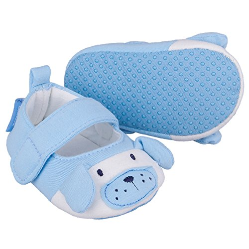 Galeja Tutu by Jungen Babyschuhe Blau Gr. XS 4-6 Monate Sommerschuhe Krabbelschuhe mit ABS Sohle