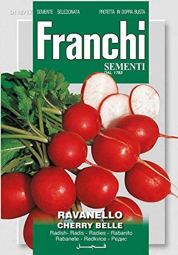 Franchi Sementi DBO112-12 Radieschen Cherry Belle (Radieschensamen)