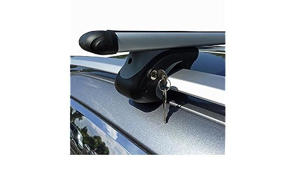 Vdp Alu Relingträger L120 Kompatibel Mit Dacia Dokker Ab 12 Bis Abschliessbar Auto