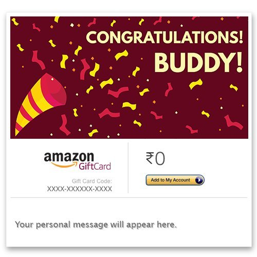 Congratulations Gift Cards & Vouchers : Buy Congratulations Gift