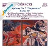 Gorecki: Symphony No. 2 / Beatus Vir
