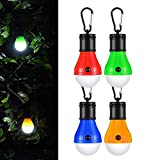 VEECEE Camping Lampe LED,Campinglampe Camping Zubehör Leuchtmittel Lampe Tragbare Zeltlampe Laterne...