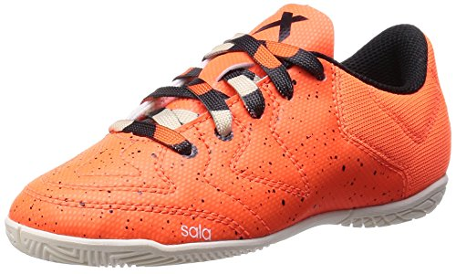 adidas X15.3 Ct, Chaussures de football garçon Orange - Orange (Solar Orange/Core Black/Chalk White)