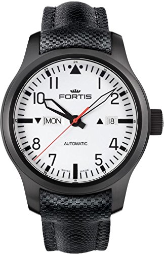 Fortis B-42 Nocturnal 655.18.12.LP Automatic Mens Watch Excellent readability