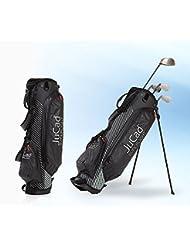 JuCad Golf Ständer Bag Superlight 1,3 kg Das Federgewicht mit 2 in 1 Funktion