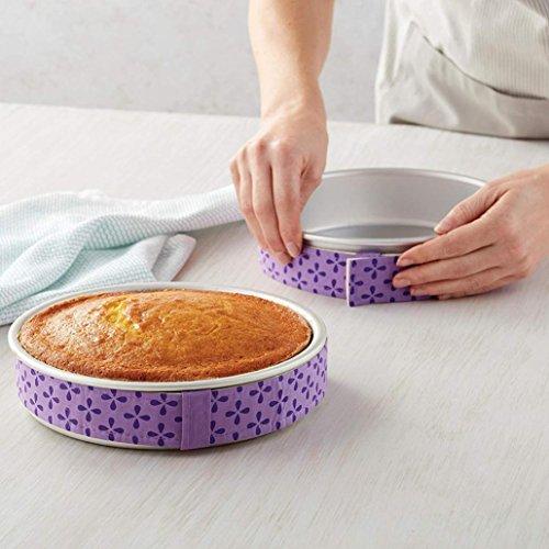 gaddrt Nizza Kuchen Pan Streifen Backen Sogar Streifen Gürtel Backen Sogar feucht Ebene Kuchen Backen Werkzeug (Harry Kit Potter Kuchen Dekorieren)