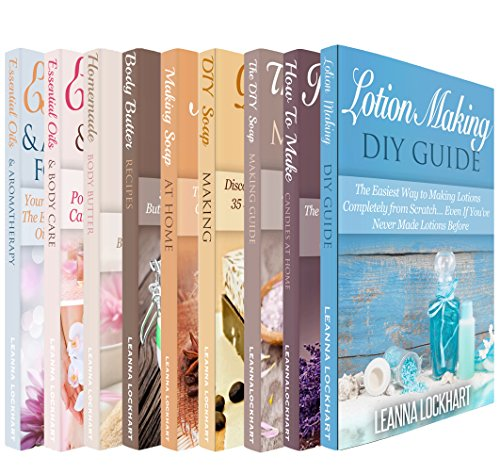 Soapmaking, Body Butter & Essential Oils DIY Collection x 9: Soapmaking, Body Butter & Essential Oils Boxset Bundle: Making Soap At Home, DIY Soap Recipes, ... MORE! (DIY Beauty Boxsets) (English Edition)
