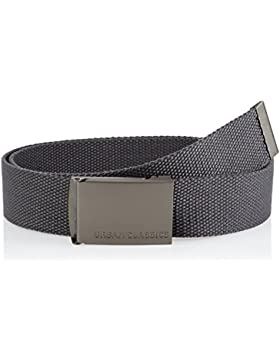 Urban Classics Canvas Belts, Cinturón Unisex Adulto