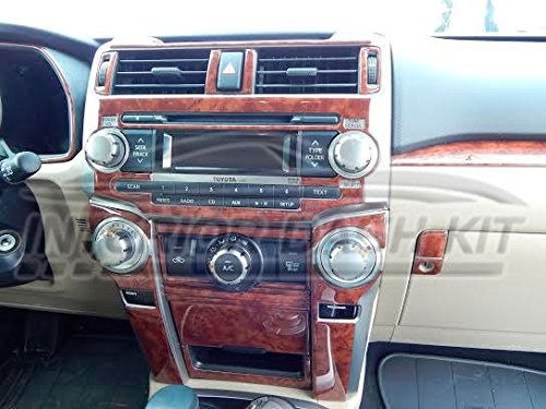 Toyota 4Runner 4 Runner Innen Burl Wood Dash Trim Kit Set 2010 2011 2012 2013 (2012 Toyota 4runner)