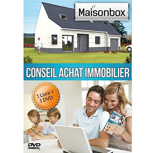 Guide pratique de l'Achat Immobilier, Livre + 1 DVD de formation MaisonBox Ide Cadeau Utile