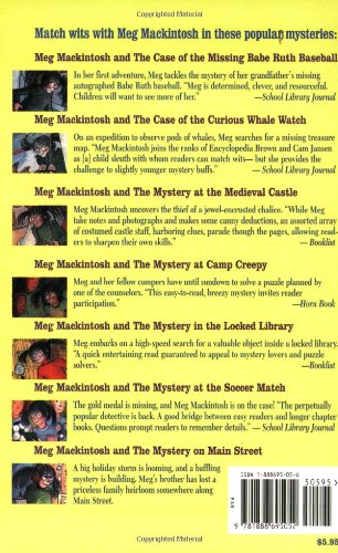 Meg Mackintosh and the Mystery at the Soccer Match: A Solve-It-Yourself Mystery (Meg Mackintosh Mystery)