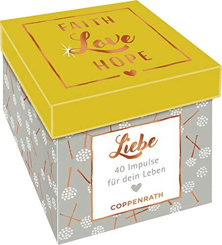 Sprüchebox - Faith, Love, Hope: LIEBE - 40 Impulse für dein Leben