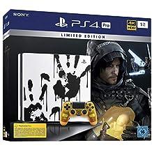PlayStation 4  Pro Death Stranding Limited Edition - Konsole (1TB, schwarz, Pro)
