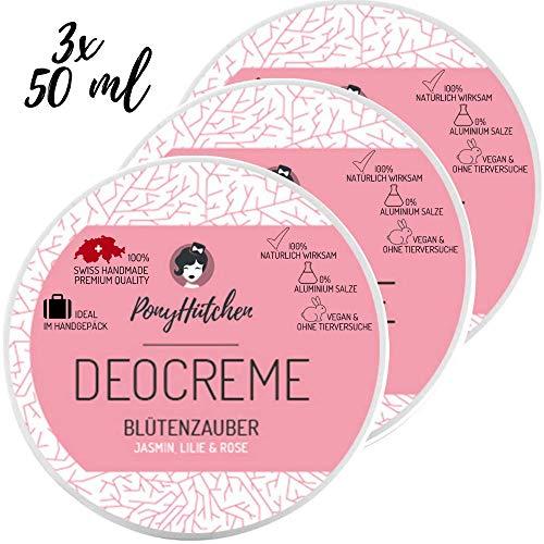 3 x 50 ml   Set ahorro   Pony conos desodorante crema