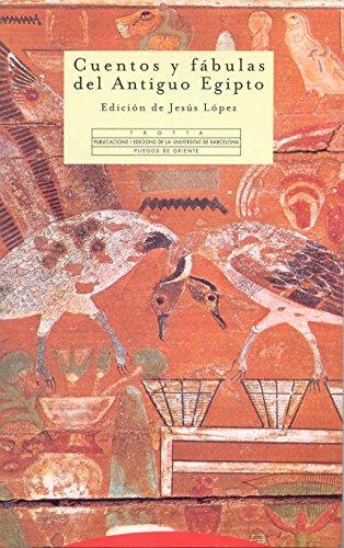 Descargar Libro Cuentos Y Fábulas Del Antiguo Egipto (Pliegos de Oriente) de Jesús López