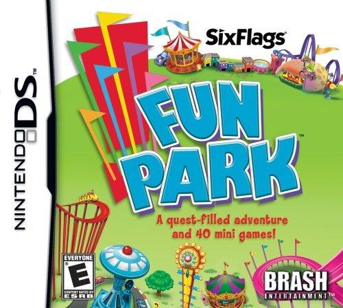 Six Flags Fun Park - Nintendo DS by Brash Entertainment (Ds-fun-park)