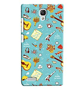 Expert Deal Best Quality 3D Printed Hard Designer Back Cover For Xiaomi Redmi Note