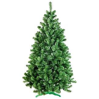 DecoKing Künstlicher Weihnachtsbaum Árbol de Navidad Abeto Lena, Verde, 120 cm